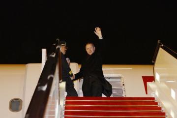 Turkish President Recep Tayyip Erdogan ends visit to Azerbaijan