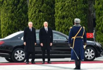 Türkiyə Prezidenti Azərbaycana gəlib