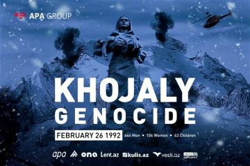 28  years pass since Khojaly Genocide committed by Armenian military