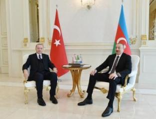 Azerbaijani, Turkish presidents hold one-on-one meeting