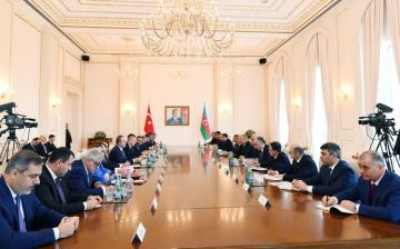 Baku hosts VIII Meeting of the Turkey-Azerbaijan High-Level Strategic Cooperation Council