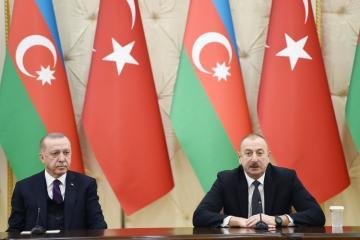 Президенты Азербайджана и Турции выступили с заявлениями для прессы - [color=red]ОБНОВЛЕНО[/color]