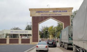 Red Bridge customs checkpoint on Azerbaijan-Georgia border switches to enhanced operation mode
