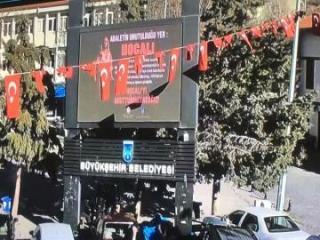 В городах Турции демонстрируются видеоролики о Ходжалинском геноциде - [color=red]ФОТО[/color]