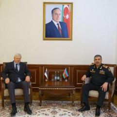 Azerbaijan Defense Minister meets with the Personal Representative of the OSCE Chairperson-in-Office