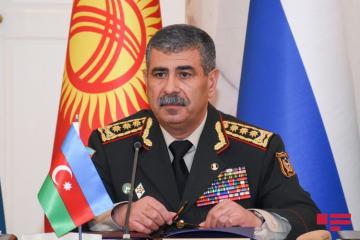 Azerbaijani Minister of Defense extends condolences to Turkey