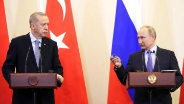 Эрдоган и Путин договорились встретиться в ближайшее время