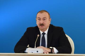 Президент: Всемирный банк в своем отчете Doing Business признает Азербайджан одной из 20 самых реформаторских стран