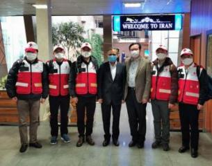 Chinese medical team arrives in Iran