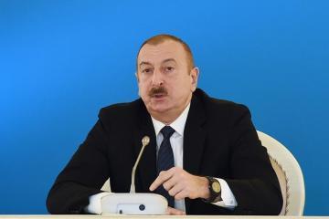 Президент Азербайджана: До конца нынешнего года мы отметим открытие проекта Южного газового коридора