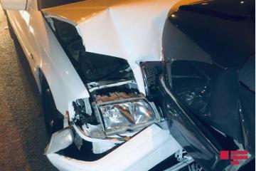 В Баку произошла цепная авария, есть пострадавшие -[color=red] ФОТО[/color]