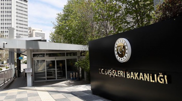 """Turkish MFA: """"We are deeply concerned by the rising tensions between the United States and Iran"""""""