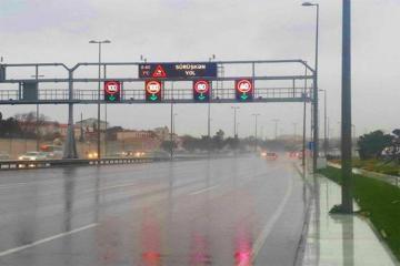 Предел скорости для автомобилей в направлении аэропорта снижен на 20 км/ч