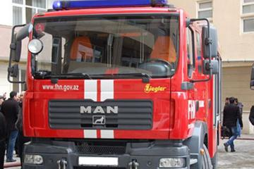 В Мингячевире произошел пожар в пятиэтажном жилом здании