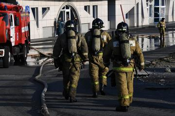 Rusiyada evdə yanğın olub, 4 nəfər ölüb