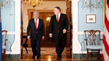 US Secretary of State and UN Secretary General discussed issues of Venezuela and the Middle East