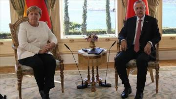 Turkish president, German chancellor discuss Syria, Libya