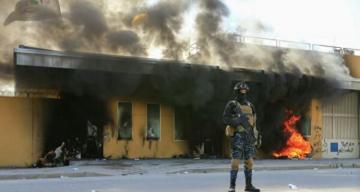 СМИ сообщили о минометном обстреле посольства США в Багдаде
