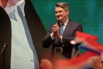 Xorvatiyada Zoran Milanoviç prezident seçkilərinin ikinci turunda qalib gəlib