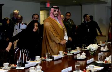 Saudi deputy defense minister met Esper, discussed ongoing military cooperation