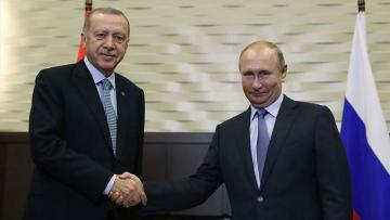 Erdogan and Putin meet in Istanbul ahead of opening ceremony of TurkStream