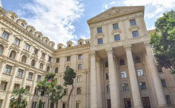 Azerbaijani MFA extends condolence over Ukrainian plane crash in Iran