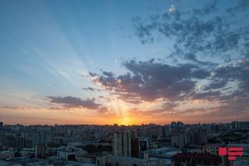 Обнародованы показатели среднегодовой температуры воздуха в Азербайджане до 2050 года