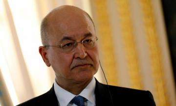 Iraqi president says he wants to spare region from military conflict