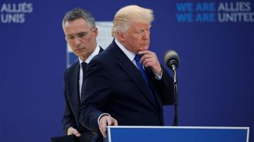 NATO agrees to Trump's calls to 'become more involved in the Middle East' after Iran missile strikes