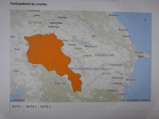 EU Horizon 2020 Program removes distorted map of Azerbaijan's Nagorno Garabagh from its website