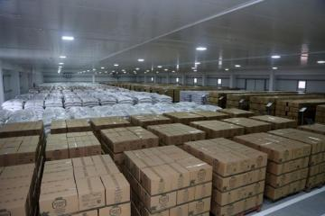 The opening of new food warehouses of the Main Department for Logistic Support held - [color=red]VIDEO[/color]