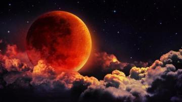 Произошло первое лунное затмение 2020 года