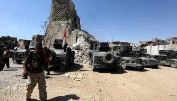 Военную базу на севере Ирака обстреляли из установок «Катюша»