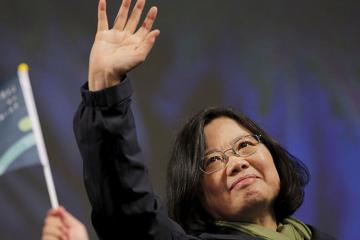 Tsay İnven  yenidən Tayvan Prezidenti seçilib