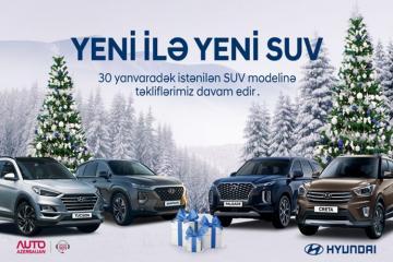 """""""Hyundai""""ın """"Yeni il müjdəsi"""" kampaniyası yanvarın 30-dək davam edəcək"""