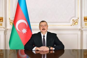 President Ilham Aliyev congratulates the President of Croatia