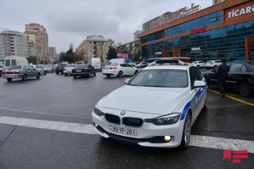 Baku Traffic Police appeals to drivers on rainy weather condition
