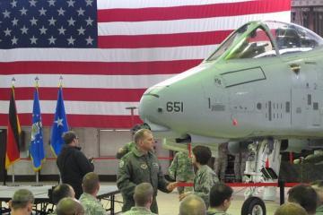 Almaniyadakı ABŞ aviabazasında iki pilotun meyiti tapılıb