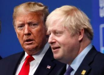 "Trump agrees with British PM Johnson on a ""Trump deal"" for Iran"