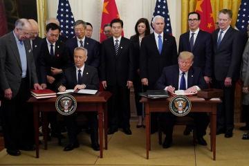 ABŞ və Çin ticarət razılaşması üzrə ilk sənədlər paketini imzalayıb