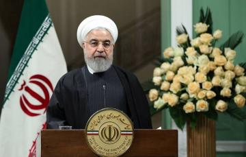 Iranian President Hassan Rouhani asks Iran armed forces to 'apologise' over jet downing