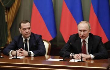 Путин подписал указ об отставке правительства