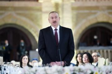 "President Ilham Aliyev: ""At the end of this year or next year we will receive first gas in the amount of 1.5 billion cubic meters from Absheron"""