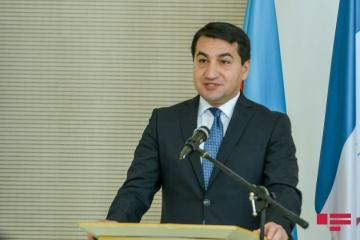 "Hikmet Hajiyev: ""EU has firm and unanimous support to Azerbaijan's territorial integrity"""