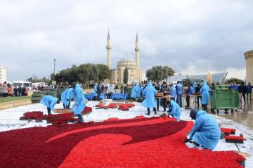 Preparation works implemented at Martyrs' Lane on occasion of anniversary of January 20 tragedy