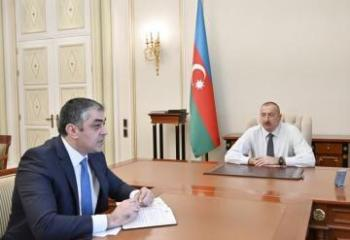 President Ilham Aliyev receives Minister of Transport, Communications and High Technologies  - [color=red]UPDATED[/color]