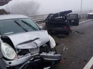 В России на трассе столкнулись 34 автомобиля, есть погибшие и раненые - [color=red]ФОТО[/color]