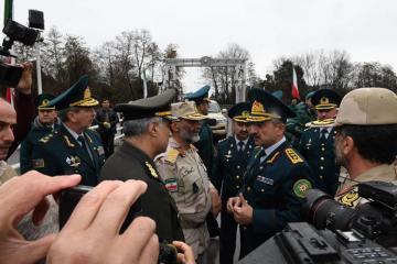 Elçin Quliyev İran Sərhəd Qoşunlarının komandanı ilə görüşüb - [color=red]FOTO[/color]