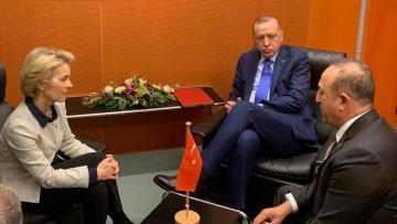 Глава ЕК обсудила с Эрдоганом и Чавушоглу ситуацию в регионе