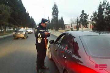 Дорожная полиция провела масштабный рейд в Гяндже - [color=red]ФОТО[/color]